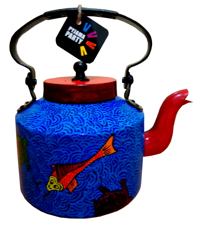 Limited Edition kettle- Japanese Koi fish Serveware By Pyjama Party Studio