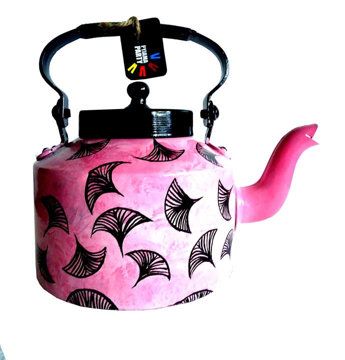Limited Edition kettle- Pink Autumn Serveware By Pyjama Party Studio