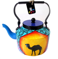 Limited Edition kettle- Rajasthani woman Serveware By Pyjama Party Studio