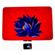 Trippy Trinket boxes- handpainted keepsake box - Purple Lotus Decorative Box By Pyjama Party Studio