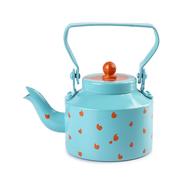 PoppadumArt The Chaiwala Tea Set - Aquamarine & Orange Serveware By PoppadumArt
