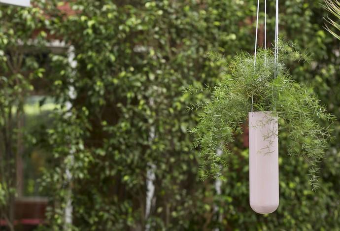 PoppadumArt Lab Planter - Powder Pink Garden Decor By PoppadumArt