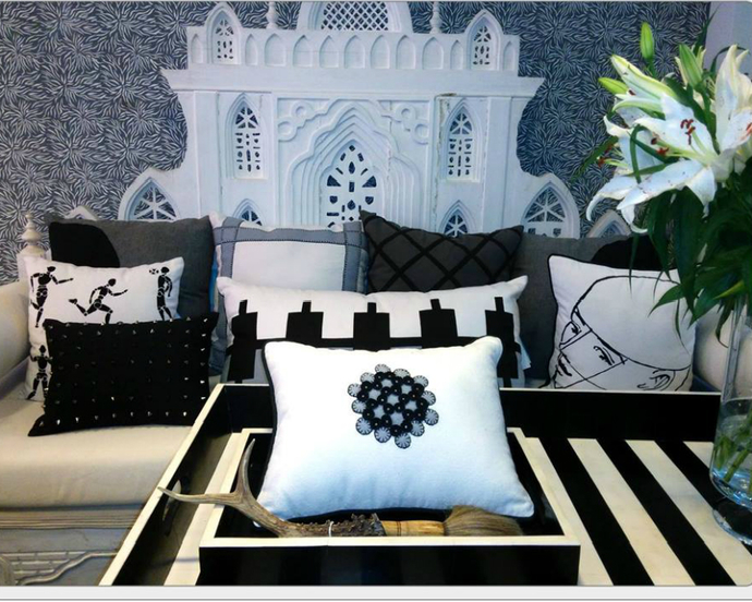 Mughal Gate Cushion Cover By Monsoon And Beyond