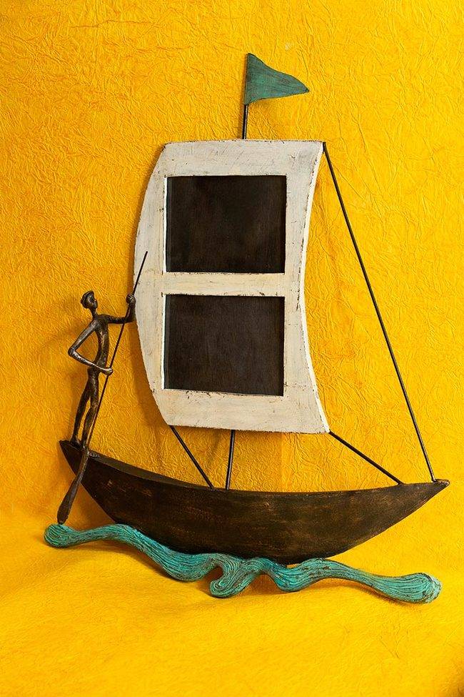 Boat wall photoframe2