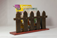 Bird on Fence - Wall cum Table Magazine Holder Accessories By THE ART SPA
