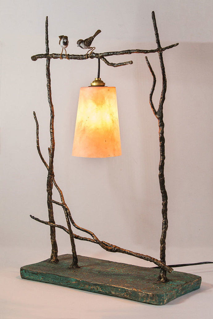 Birds on Twigs Lamp Table Lamp By THE ART SPA