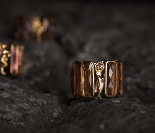 Leela Ring by Nine Vice, Art Jewellery Ring