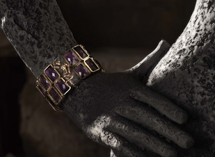 Apsara Cuff by Nine Vice, Art Jewellery Bracelet