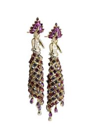 Feerie` Earrings in Swarovski by Nine Vice, Art Jewellery Earring