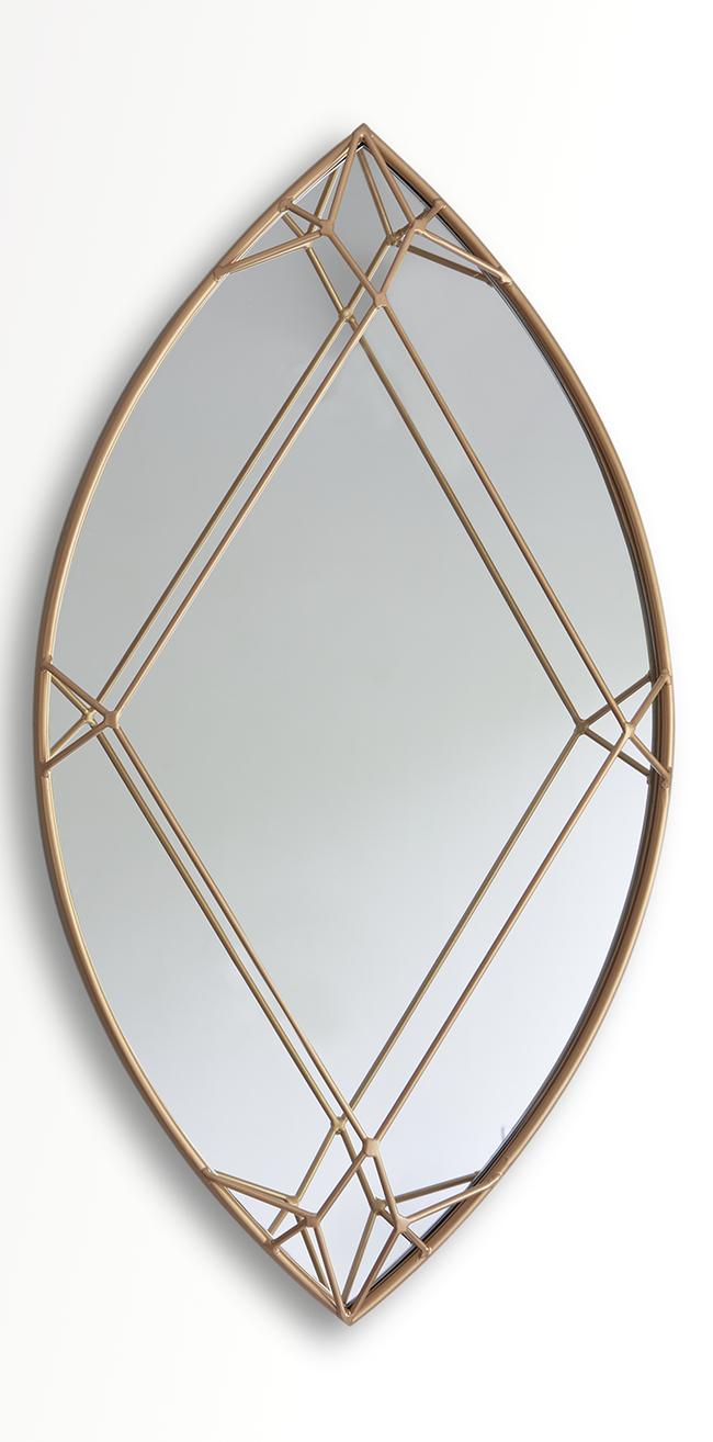 Marquise diamond mirror