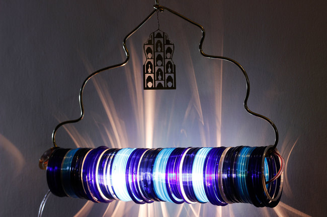 Jaipur choori lamp in underwater blue by sahil and sarthak %282%29