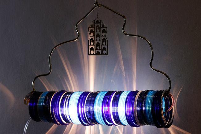 Jaipur choori lamp in underwater blue by sahil and sarthak %282%29