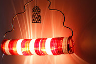 Jaipur Choori Lamp : Festive Red Wall Decor By Sahil & Sarthak