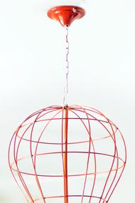 PoppadumArt Hot Air Balloon Lamp Ceiling Lamp By PoppadumArt