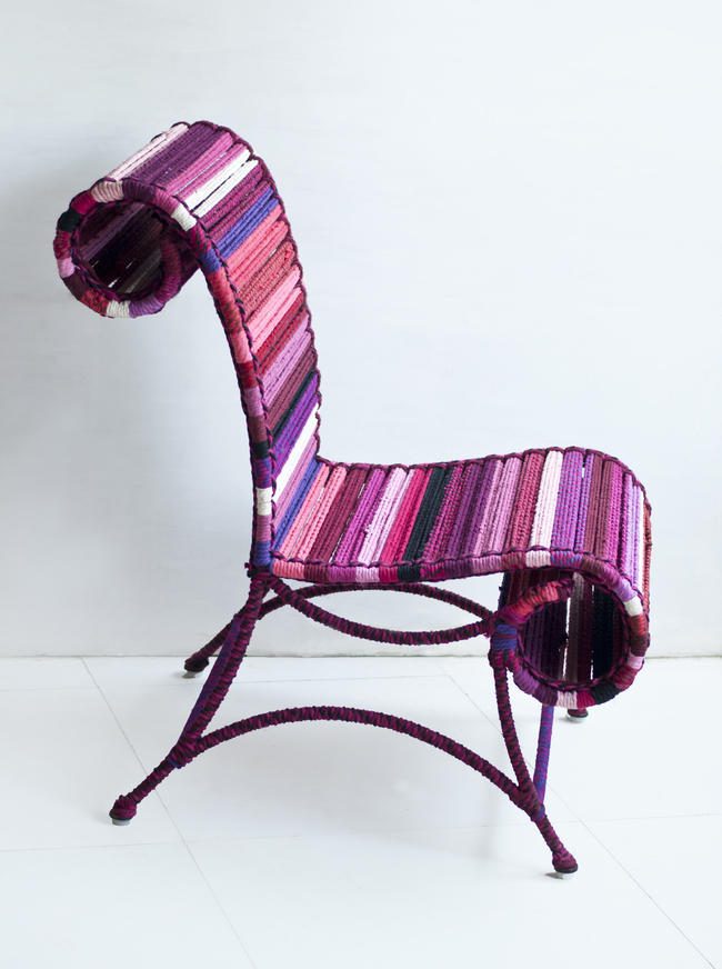 Athena chair in rose pink by sahil   sarthak 4