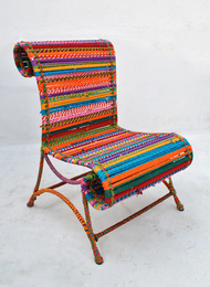Athena Chair - In Multicolor Furniture By Sahil & Sarthak