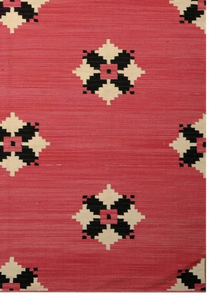 4X6 Flat Weave Cotton Rug Carpet and Rug By Jaipur Rugs