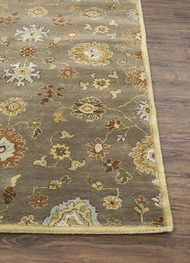 5X8 Hand Tufted Transitional Wool Rugs Carpet and Rug By Jaipur Rugs