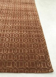 Indian Handmade Rugs 5X8 Hand Tufted Transitional Wool & Viscose Rugs Carpet and Rug By Jaipur Rugs