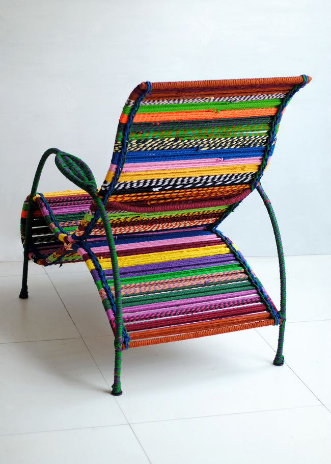 Phina lounge chair  back detail  by sahil   sarthak