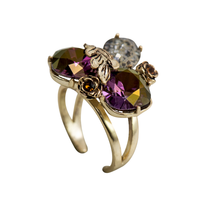 Autumn Ring by NV pret` by Nine Vice, Art Jewellery Ring