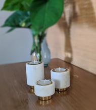 Tealight Pillars Candle Stand By Studio Saswata