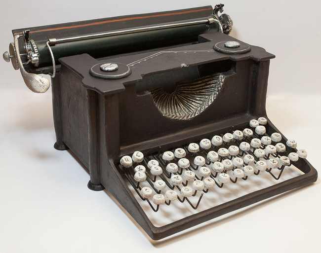 Typewriter magazine holder3