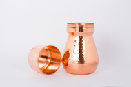 Watr Carafe-mini [Copper glass] Serveware By Rayden Design Studio