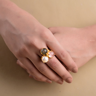 CLUB RING by Symetree, Art Jewellery Ring