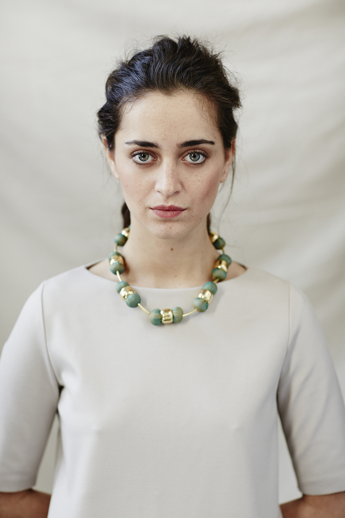Pomo Necklace by Eisha Designs, Art Jewellery Necklace