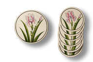 Orchid Coaster Set By Eclectic Elan