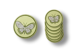 Butterfly Coaster Set By Eclectic Elan