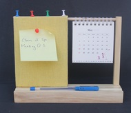 IVEI warli desk calendar with a pin board - Yellow Decorative Vase By i-value-every-idea