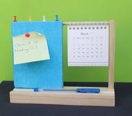 IVEI warli desk calendar with a pin board - Blue Decorative Vase By i-value-every-idea