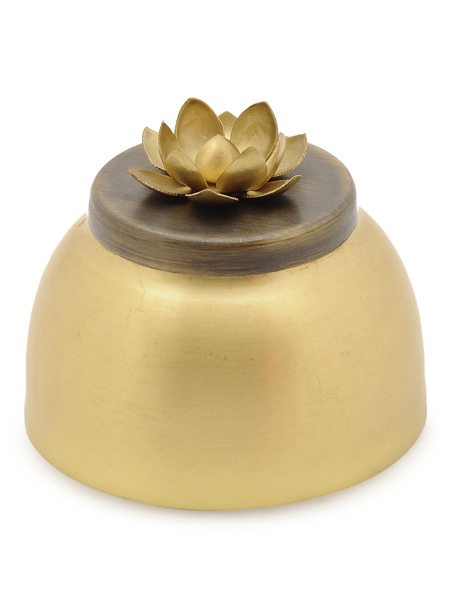COURTYARD GANGA MARTABAN SMALL Decorative Container By COURTYARD