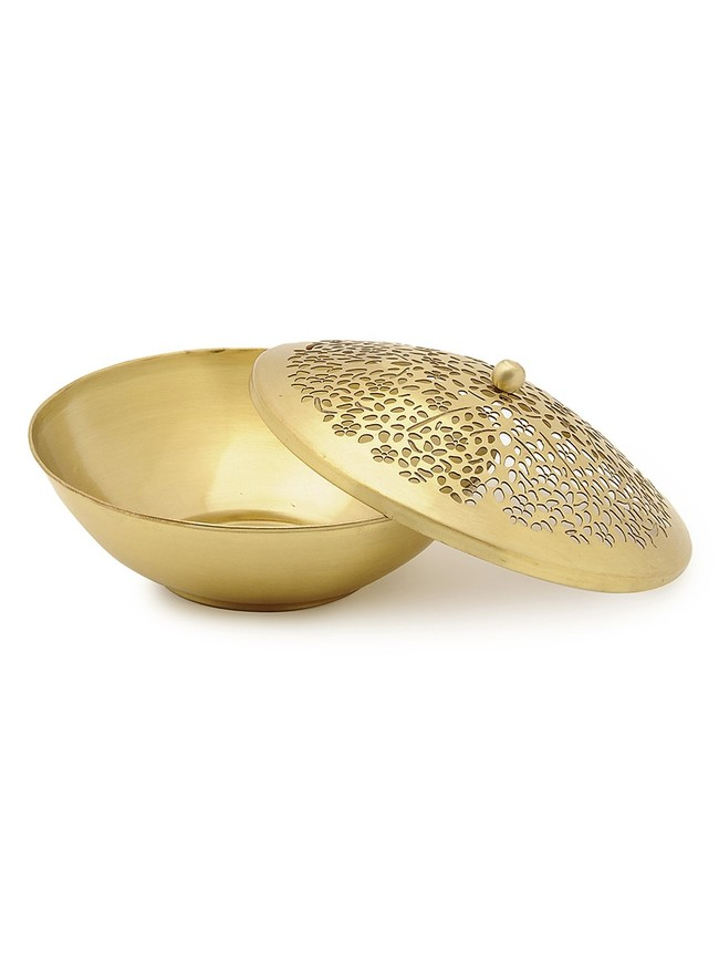 Courtyard amber nut bowl%28white%292