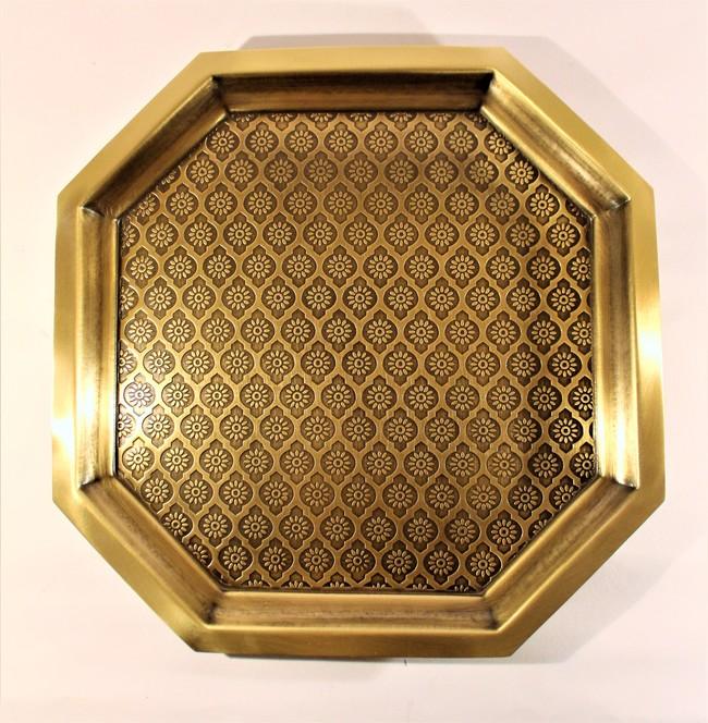 Phulkari platter large %286%29