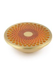Courtyard auruville nut bowl %28white%292